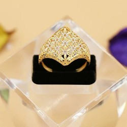 18k gold jewelry ring TOLUE YASE SEPAHAN gallery, code 7037