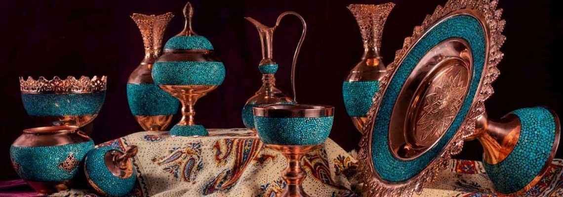 Turquoise inlaying